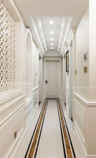 140平米三室两厅田园风格走廊装修效果图