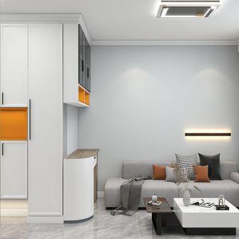 经济型50平米公寓现代简约风格客厅装修图片大全