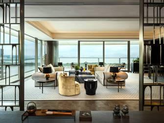 富裕型140平米四新古典风格客厅装修效果图