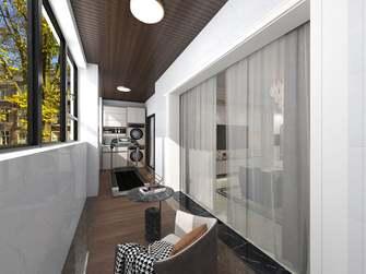 20万以上140平米四室一厅欧式风格阳台图片