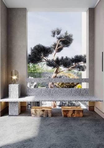 20万以上140平米别墅现代简约风格玄关图片大全