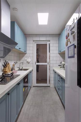 富裕型130平米三室两厅北欧风格厨房图