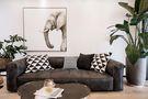 富裕型120平米三室两厅现代简约风格客厅效果图