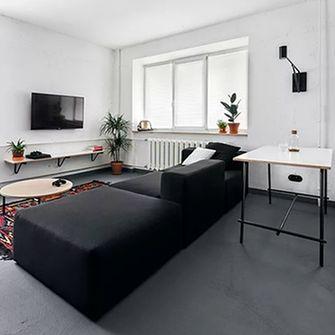 经济型40平米小户型工业风风格客厅设计图