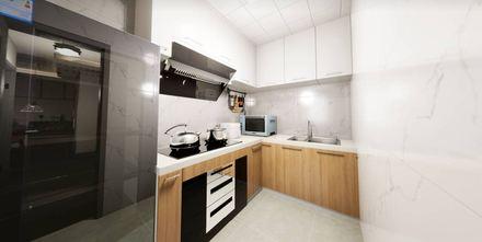 50平米一居室轻奢风格厨房图片