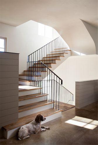 140平米东南亚风格楼梯间装修图片大全