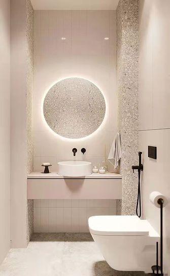 5-10万90平米一室一厅现代简约风格卫生间欣赏图