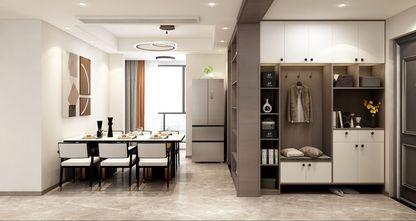 经济型140平米四室两厅轻奢风格餐厅装修效果图