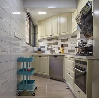 富裕型三混搭风格厨房图
