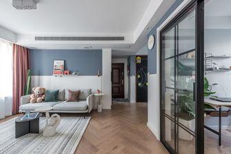 90平米三室一厅现代简约风格走廊图