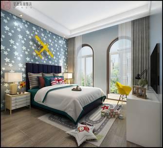 140平米复式现代简约风格青少年房装修图片大全