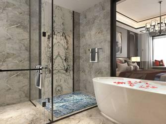 20万以上140平米三室两厅中式风格卫生间装修案例