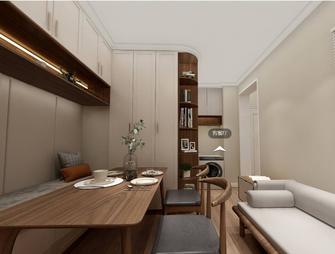 60平米三室两厅美式风格餐厅欣赏图