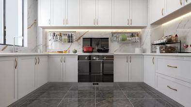 豪华型120平米四室两厅轻奢风格厨房图片大全