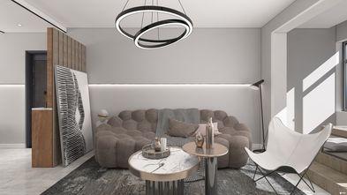 3-5万50平米一室一厅轻奢风格客厅图片
