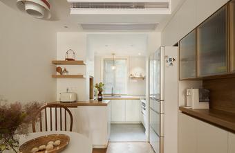富裕型80平米法式风格厨房欣赏图