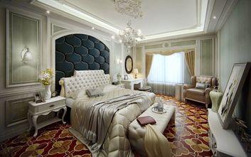 富裕型140平米别墅欧式风格卧室装修图片大全