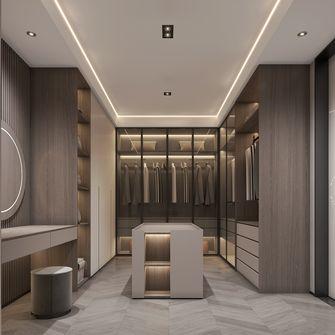 豪华型140平米别墅现代简约风格衣帽间装修案例