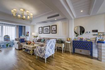 140平米四美式风格客厅设计图