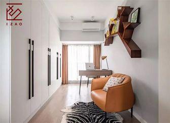富裕型110平米三室两厅北欧风格玄关图