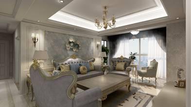 130平米四室两厅欧式风格客厅图