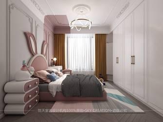 豪华型140平米三室一厅法式风格青少年房图