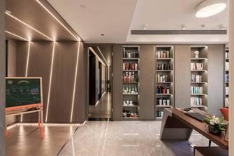 豪华型120平米三室两厅现代简约风格书房设计图