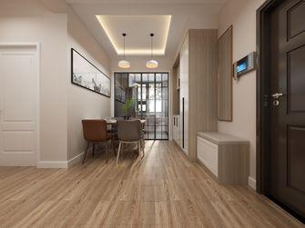 富裕型100平米三室两厅北欧风格玄关图