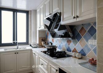 10-15万130平米三室一厅美式风格厨房欣赏图