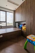豪华型90平米三室两厅混搭风格书房效果图