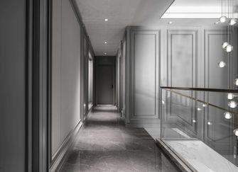 富裕型140平米别墅法式风格楼梯间装修图片大全