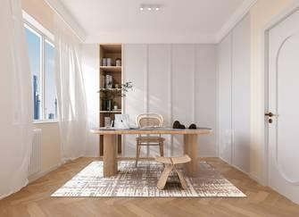 80平米混搭风格书房设计图