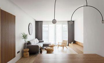 豪华型120平米四室一厅北欧风格客厅图片大全