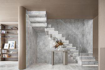 130平米三轻奢风格楼梯间效果图