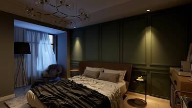 140平米四室四厅美式风格卧室装修图片大全