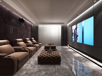 豪华型140平米别墅美式风格影音室装修图片大全