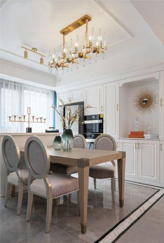 经济型130平米三室两厅美式风格餐厅设计图