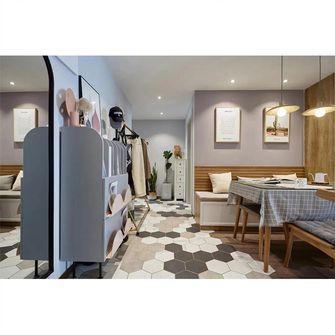 富裕型100平米三室两厅北欧风格走廊图片大全