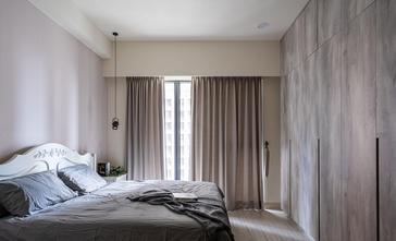 富裕型110平米三室两厅美式风格卧室图片大全