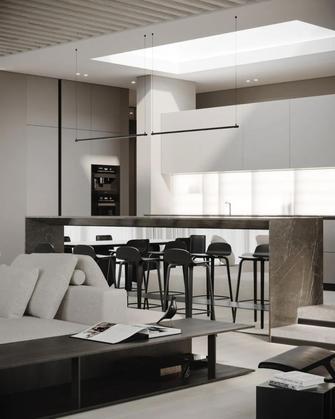 15-20万120平米三北欧风格餐厅图