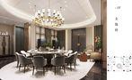 豪华型140平米四混搭风格餐厅图