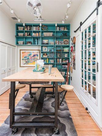 富裕型120平米三室一厅法式风格书房效果图