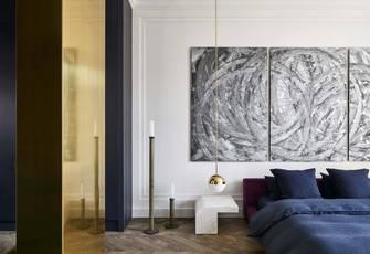 富裕型140平米四室两厅轻奢风格客厅图片