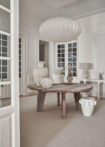 5-10万140平米三室一厅法式风格餐厅图