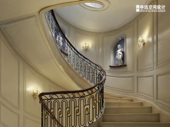 豪华型140平米别墅新古典风格楼梯间欣赏图