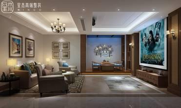 豪华型140平米别墅田园风格影音室效果图