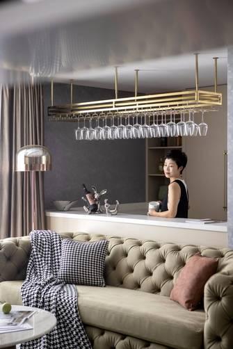 豪华型120平米四室四厅美式风格厨房图片