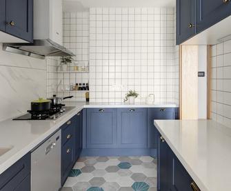 经济型100平米混搭风格厨房图
