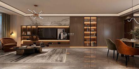 经济型120平米三轻奢风格走廊装修案例