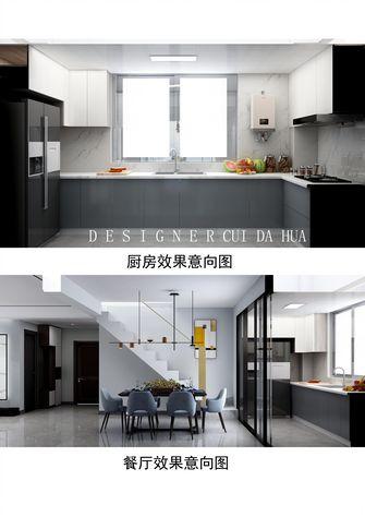 140平米复式轻奢风格厨房欣赏图